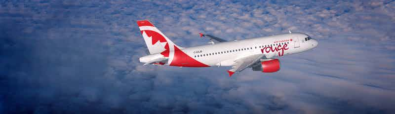 Air Canada Rouge flights