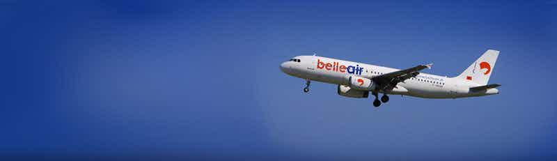 belle air flights