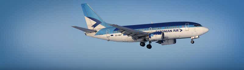 Estonian air flights