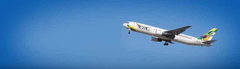 Vuelos de GMG Airlines