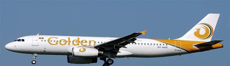 Golden Myanmar Airlines flights