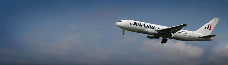 Jet Asia Airways flights