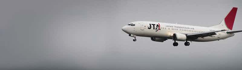 Japan Transocean Air (JTA) flights