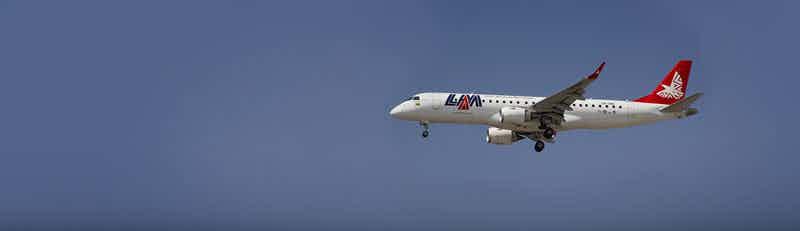 LAM Mozambique Airlines flights