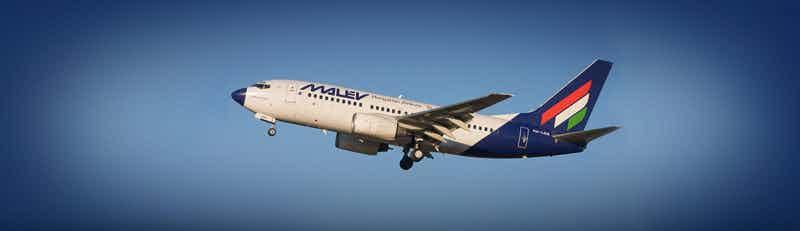 Malev flights