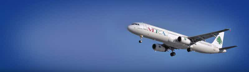 Middle East Airlines (MEA) flights
