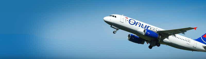 Onur Air flights