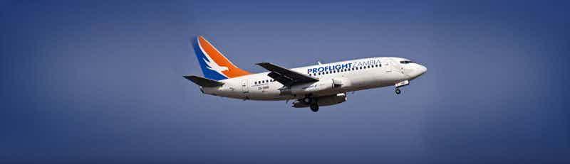 Proflight Zambia flights