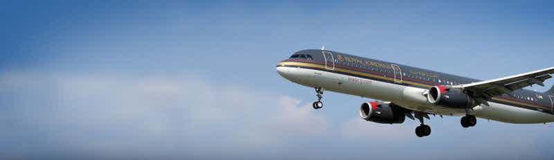 Royal Jordanian Airlines flights