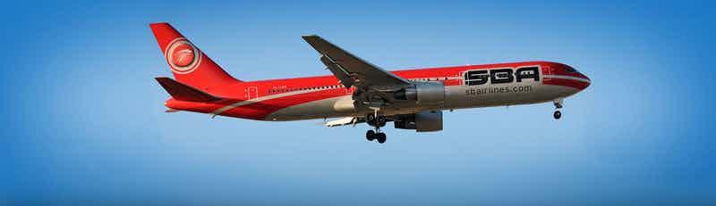 Santa Barbara Airlines (SBA) flights