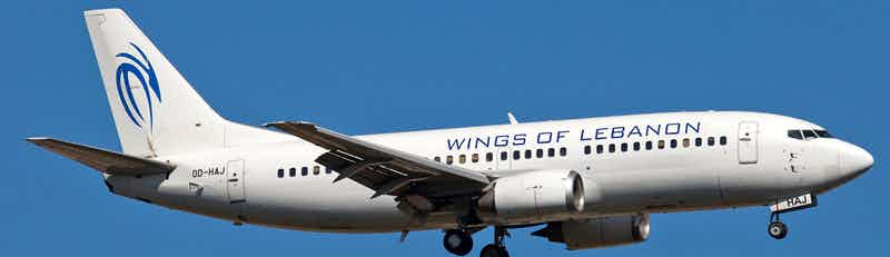 Wings of Lebanon flights