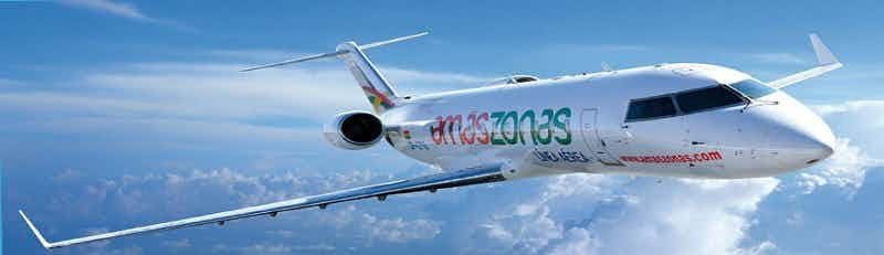 Vuelos a Amaszonas Airlines