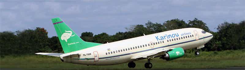 Karinou Airlines flights