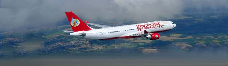 Kingfisher Red flights