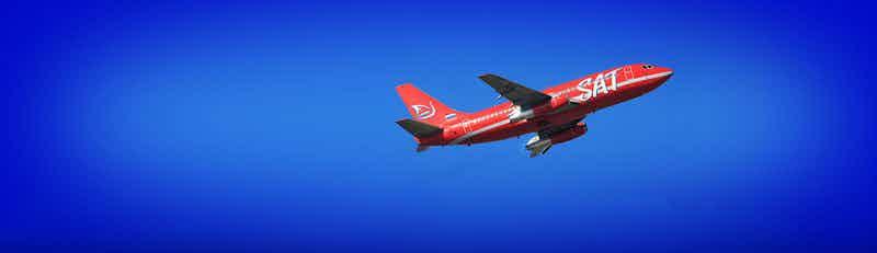 SAT Airlines flights