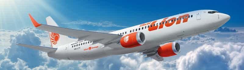Thai Lion Air flights